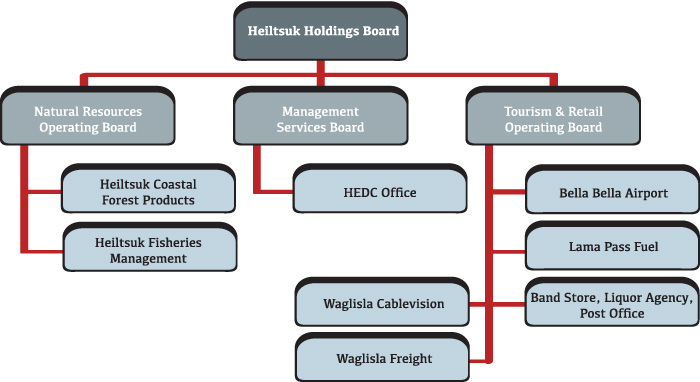 HEDC Corporate Structure